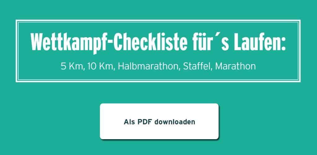 Wettkampf Checkliste Laufen runnersflow