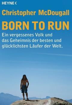 Buchcover vom Laufbuch Born to run von Christopher McDougall