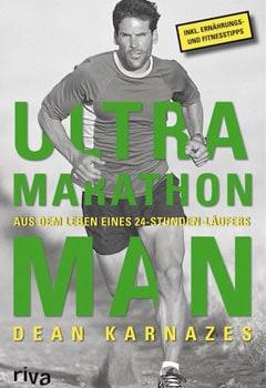 Buchcover vom Laufbuch Ultramarathon Man von Dean Karnazes