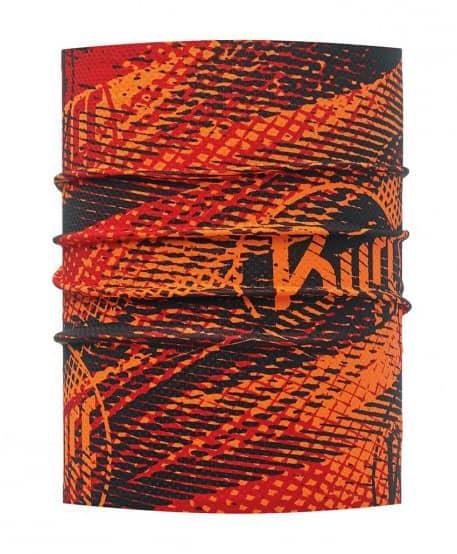 Multifunktionstuch von Buff in den Farben rot und schwarz