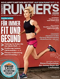 Magazin Cover von Runnersworld