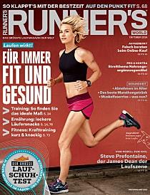 Magazin Cover von Runnersworld