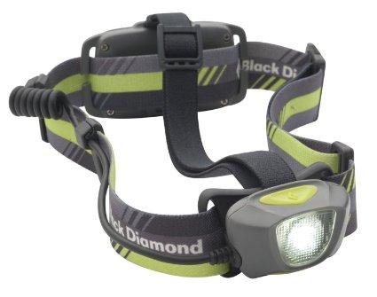 Stirnlampe zum Laufen von Black Diamond