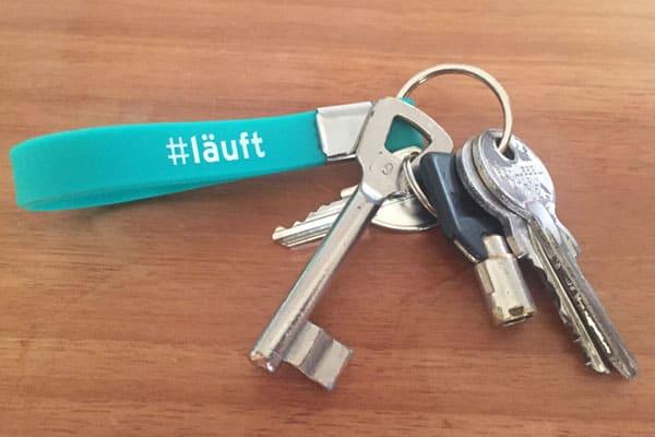 Schlüsselbund mit mehreren Schlüsseln