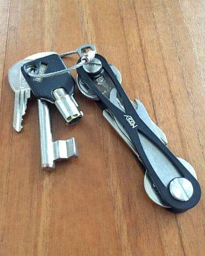 Ein Mokey Schlüsselbund