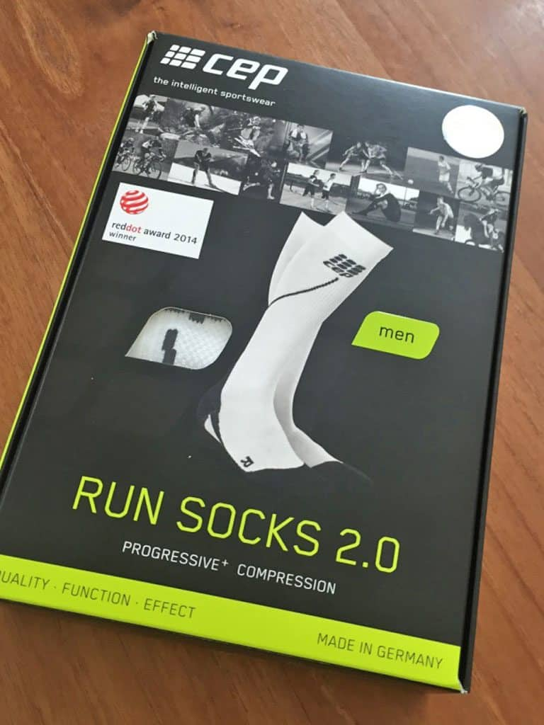 Verpackung der CEP Run Socks 2.0
