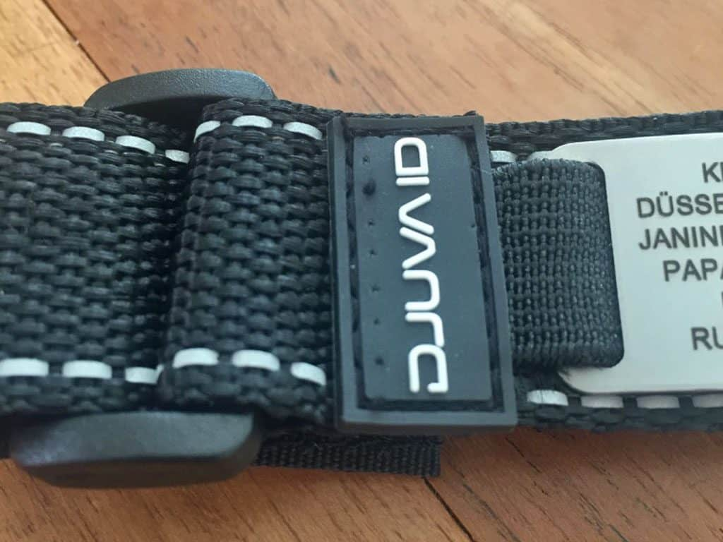 Nahaufnahme des Materials vom ID-Armband