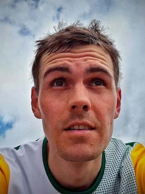 Portrait von Läufer Daniel