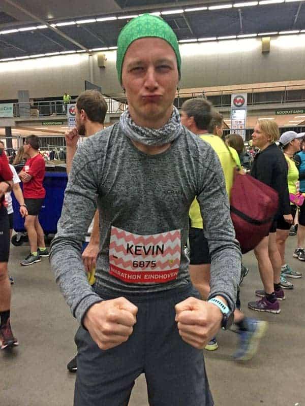 Kevin beim Eindhoven Marathon