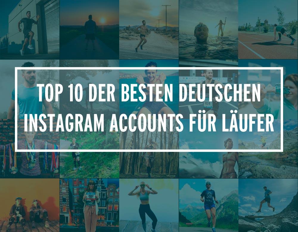 Bilder von Instagram Accounts für Läufer