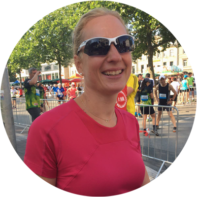Portrait von Durchstarter-Teilnehmerin Claudia