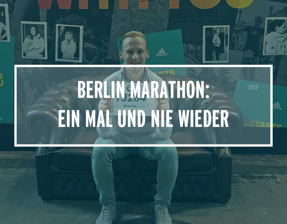 Kevin von runnersflow vor dem Berlin Marathon