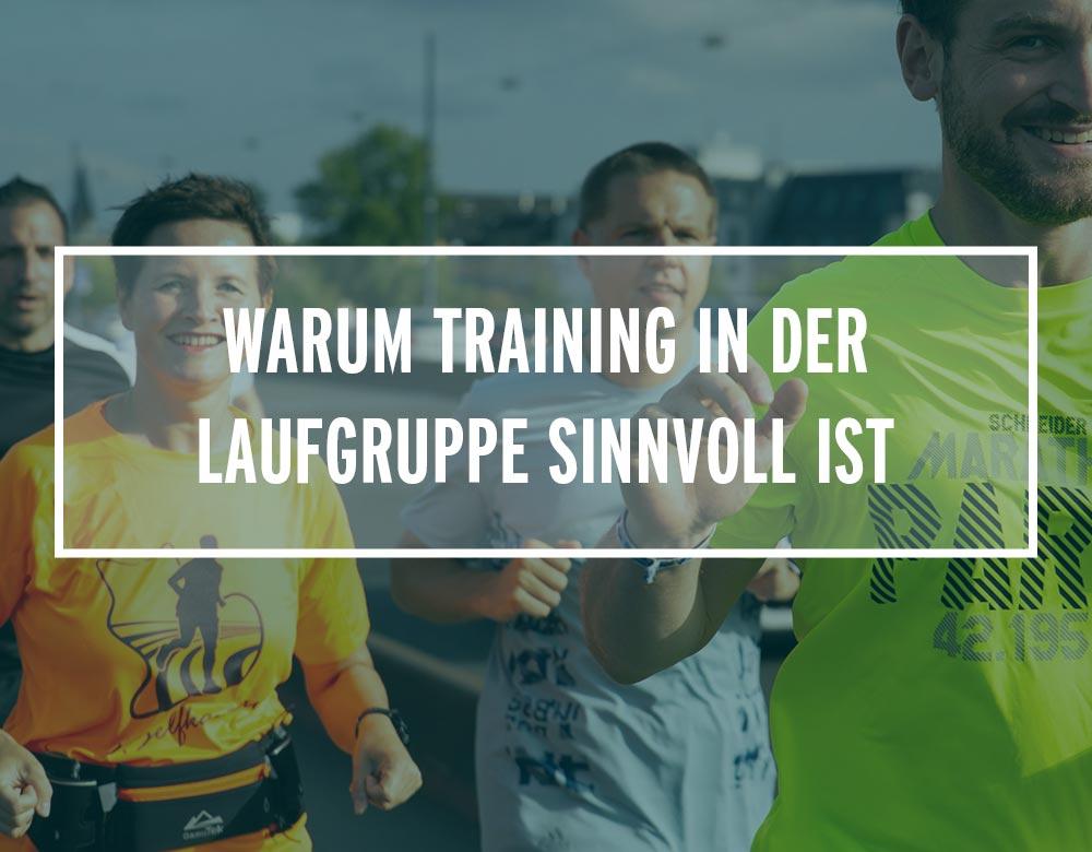 Warum dich das Training in einer Laufgruppe leistungsstärker und glücklicher macht