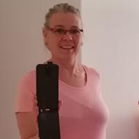 Selfie von Judith vor dem Spiegel