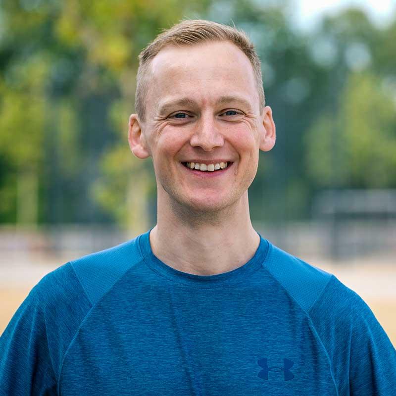 Portrait von Lauftrainer Kevin