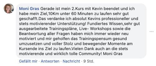 Monis Meinung zum 10K Onlinekurs von runnersflow