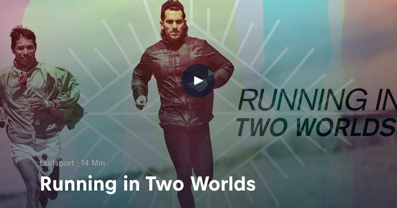 Running in two worlds