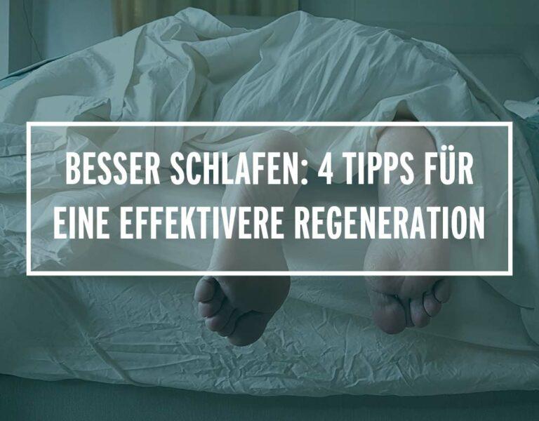 Besser schlafen: 4 Tipps für eine effektivere Regeneration als Läufer