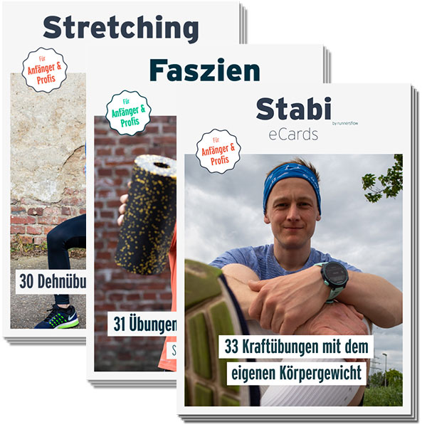 3er Ser Trainingskarten für Läufer